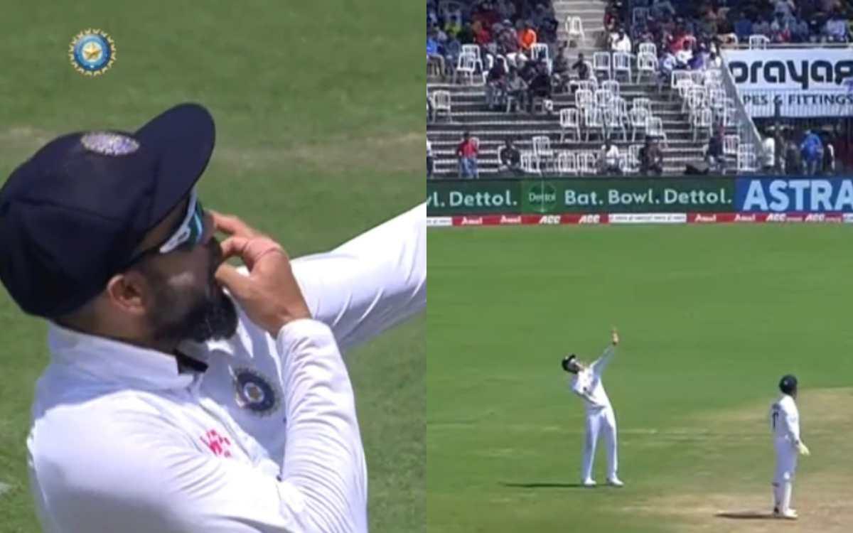 Cricket Image for VIDEO : विराट की अपील पर 'Whistle Podu' से गूंज उठा चेपॉक, फैंस बोले- हमें आईपीएल