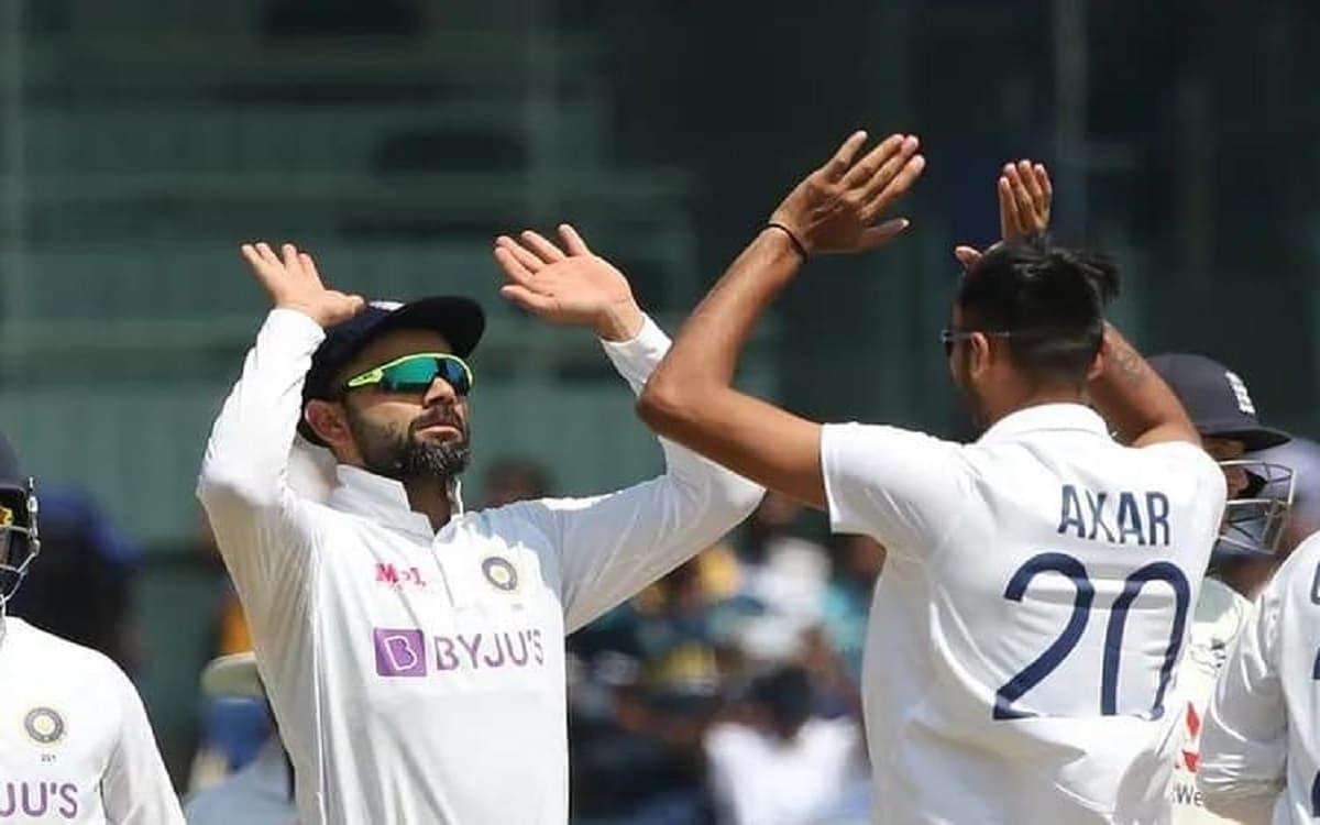 Cricket Image for IND vs ENG: Virat Kohli And Ravichandran Ashwin Laud Debutant Axar Patel