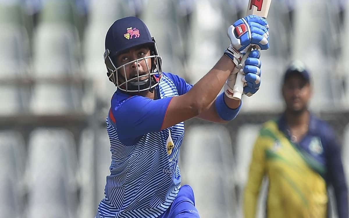 Cricket Image for  With The Help Of Prithvi Shaws Century Mumbai Beat Delhi By 7 Wickets