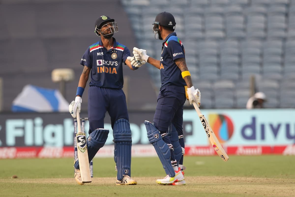 Cricket Image for 1st ODI: Pandya, Rahul Power India To 317/5 In First Innings