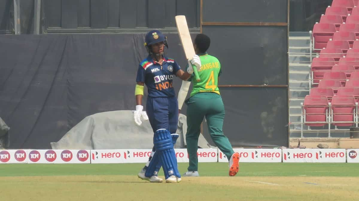 Cricket Image for 3rd ODI: Punam's 77 Leads India To 248/5 Against South Africa