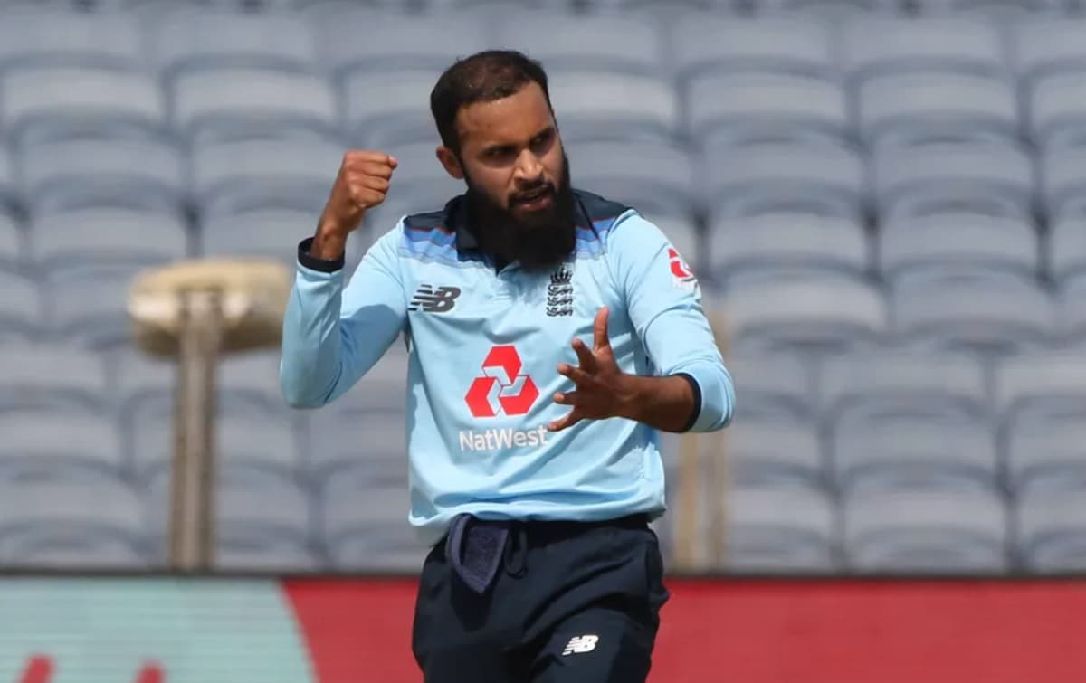 Adil Rashid is the first leg-spinner to dismiss both Indian openers in an ODI match