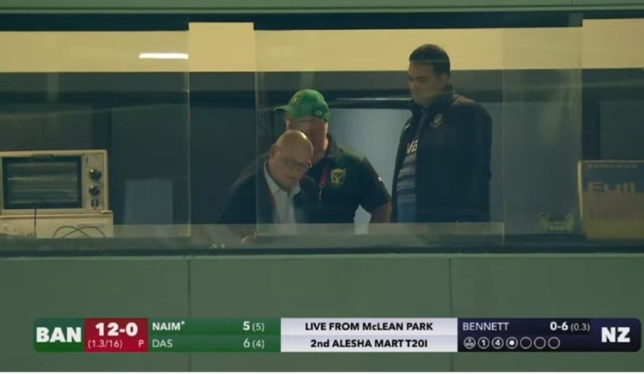 Bangladesh's target is 170 in 16 overs, according to DLS calculations