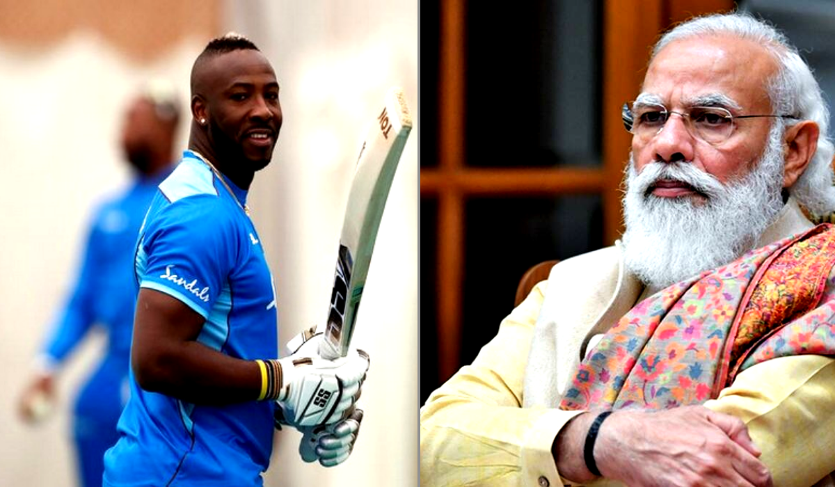 Andre Russell thanks PM Modi after getting vaccine from India