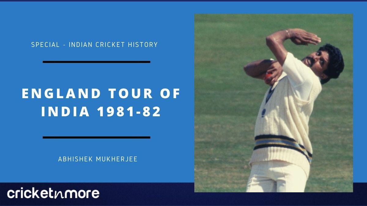 England tour of India 1981-82