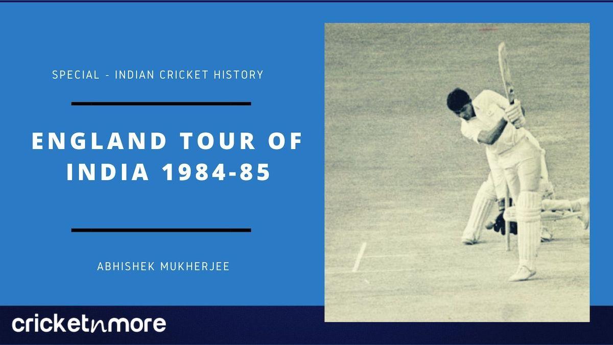 England tour of India 1984-85