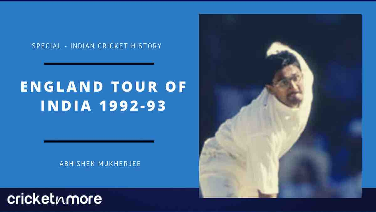 England tour of India 1992-93
