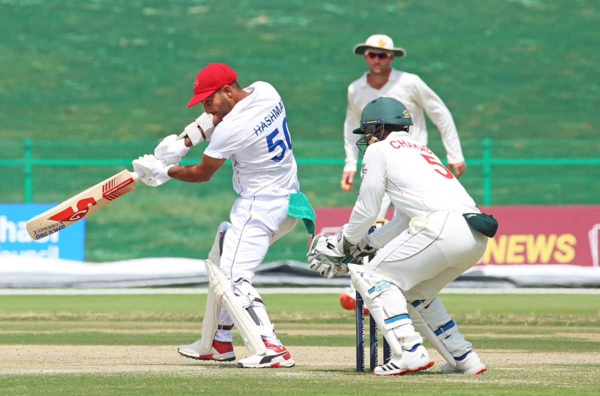 Hashmatullah Shahidi First Afghanistan player to score a Test double ton