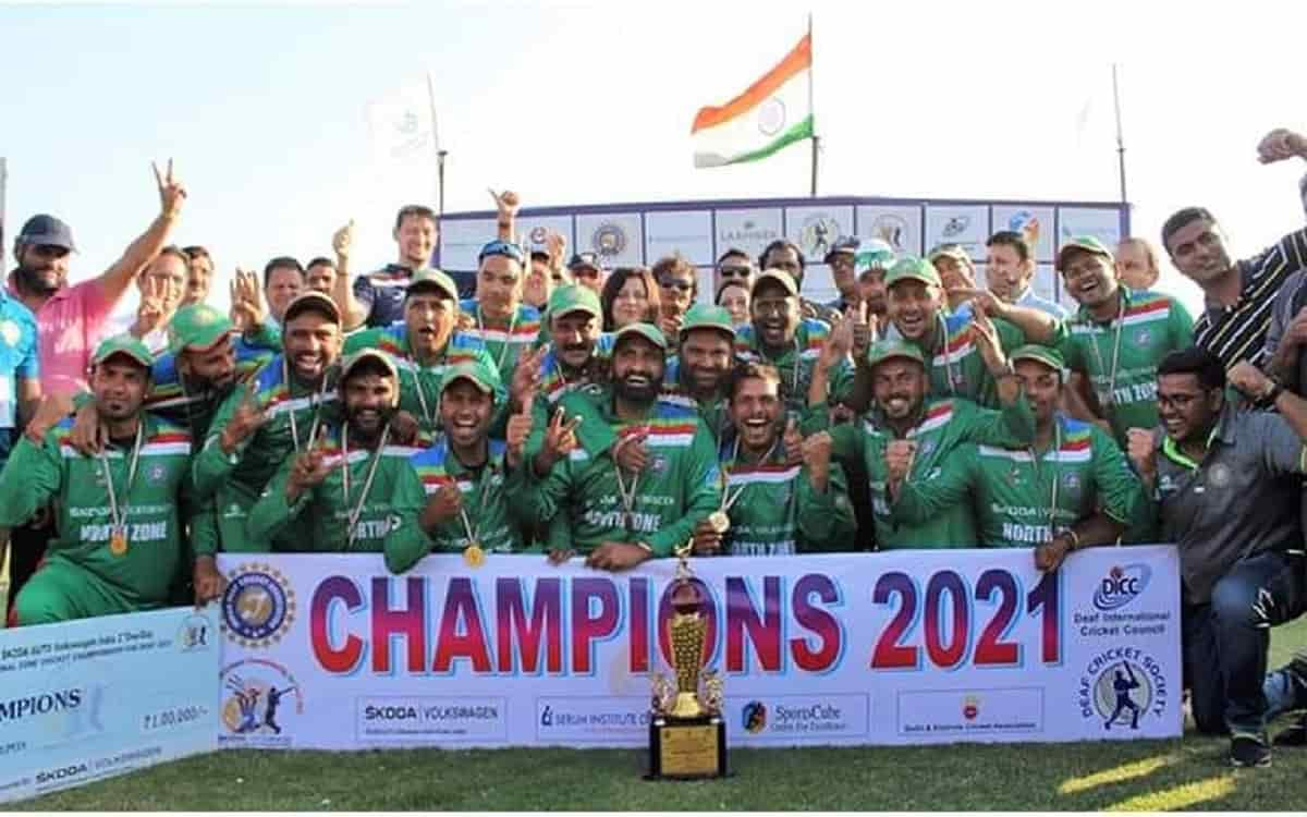 Cricket Image for Idca Successfully Conducts Deaf Championship Where North Zone Wins Tournament