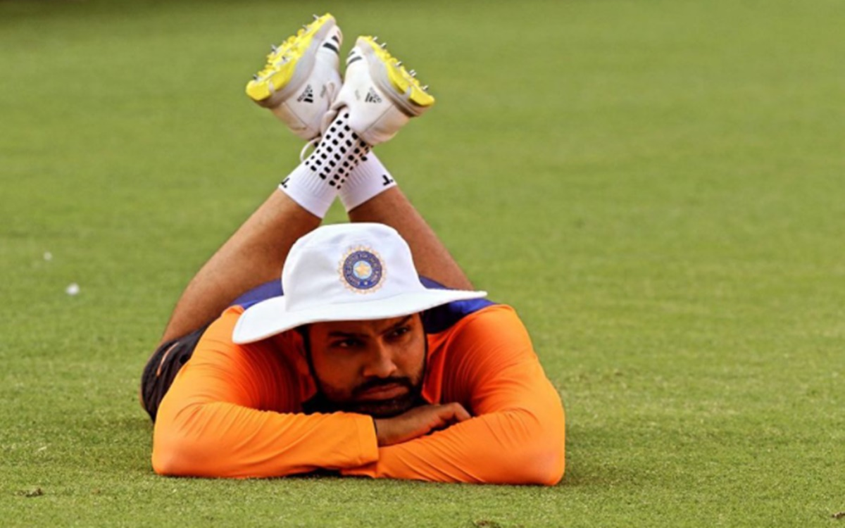 Cricket Image for Rohit Sharma Take A Dig On Pitch Controversy