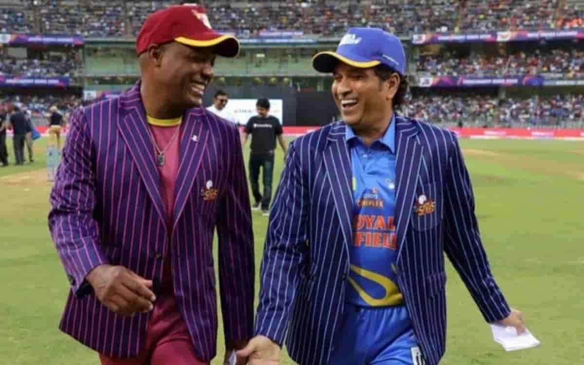Cricket Image for Road Safety World Series: आज पहले सेमीफाइनल में भिड़ेगी सचिन तेंदुलकर और ब्रायन ला