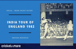 भारत का इंग्लैंड दौरा 1982
