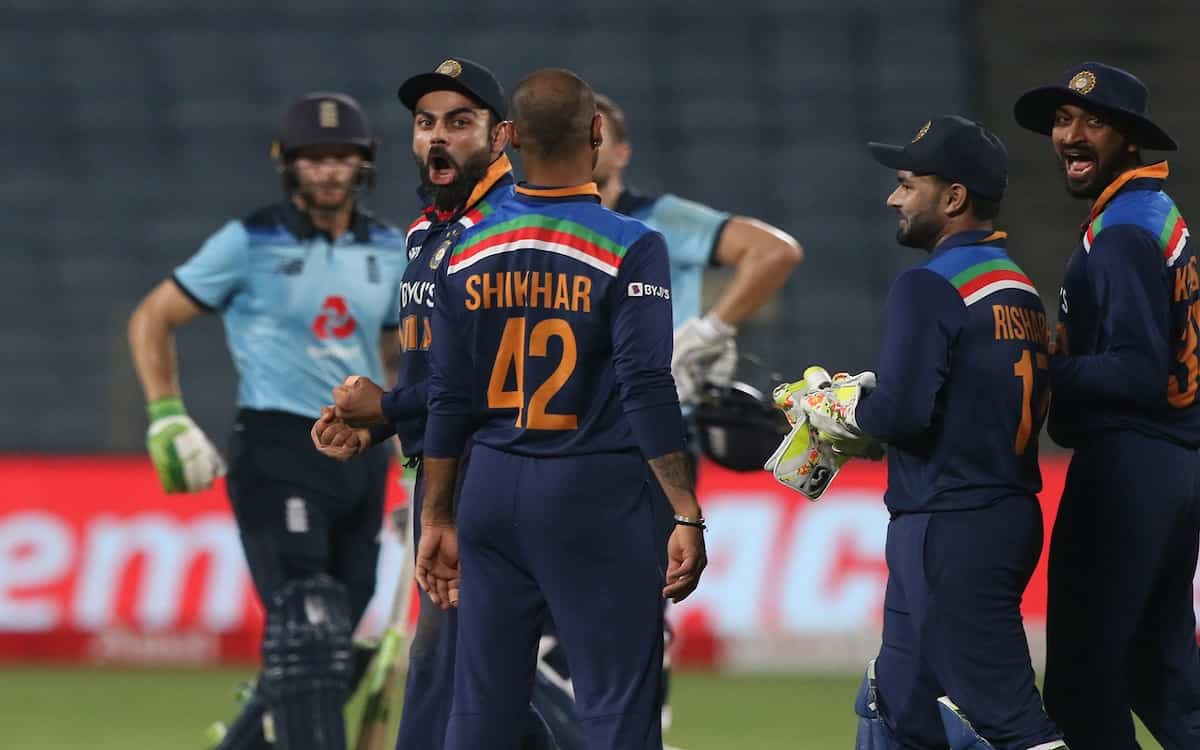 Cricket Image for India Beat England By 7 Runs In A Breath Taking Match Against England