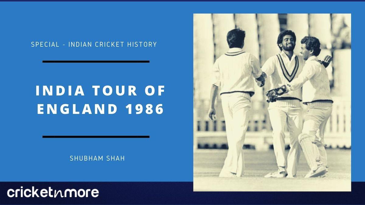 India Tour Of England 1986