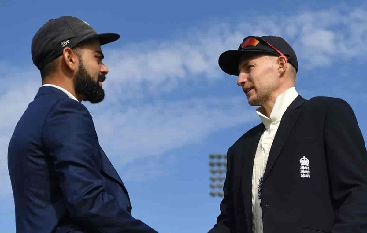 England opt to bat first against india in fourth test against India