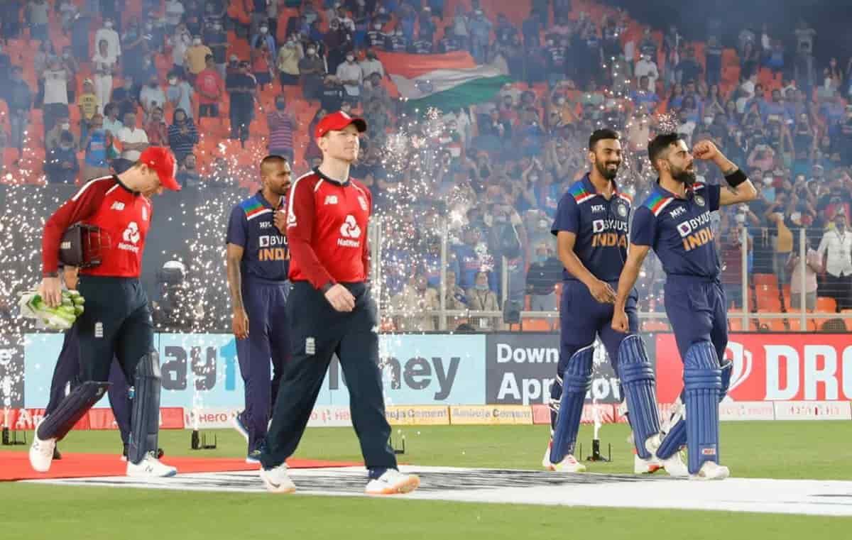 Cricket Image for IND vs ENG: धवन-अक्षर की टीम इंडिया के प्लेइंग XI से छुट्टी,दूसरे टी-20 में मुंबई