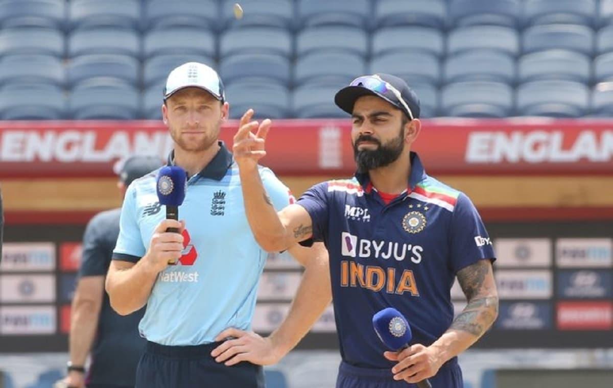 Cricket Image for IND vs ENG: विराट कोहली फिर हारे टॉस, इंग्लैंड ने तीसरे वनडे में चुनी गेंदबाजी, प्