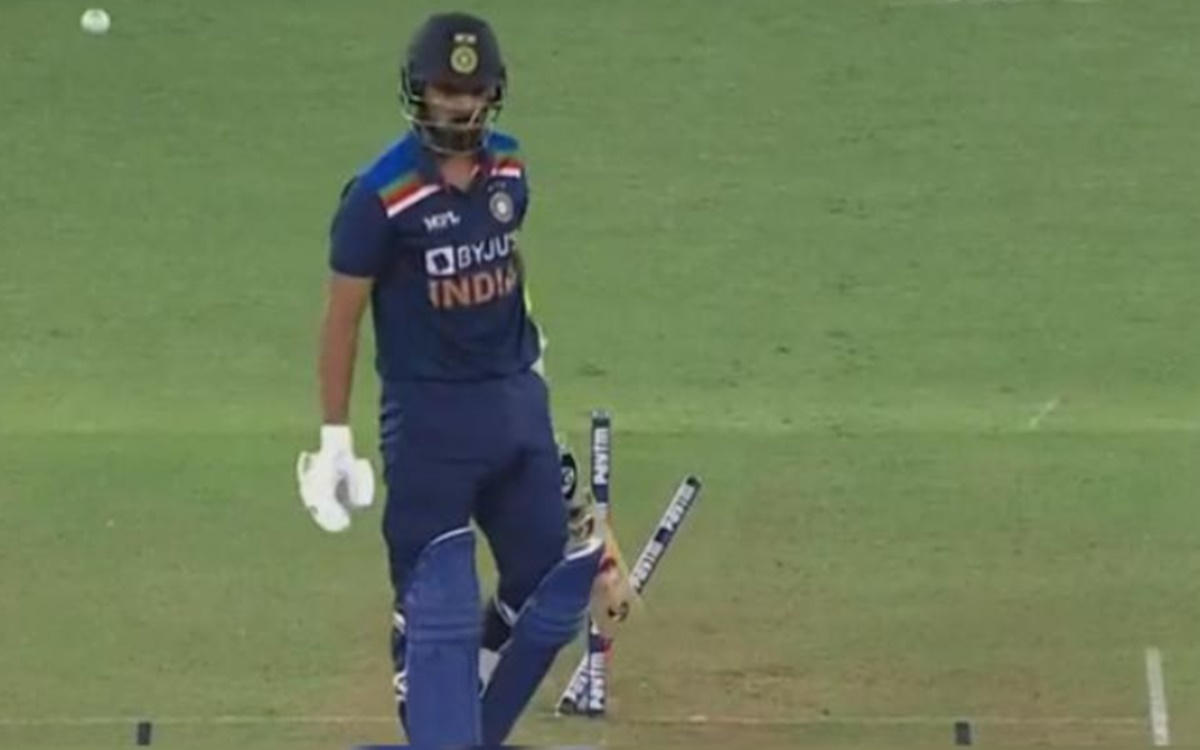 Cricket Image for  Kl Rahul Scored 0 Watch Video
