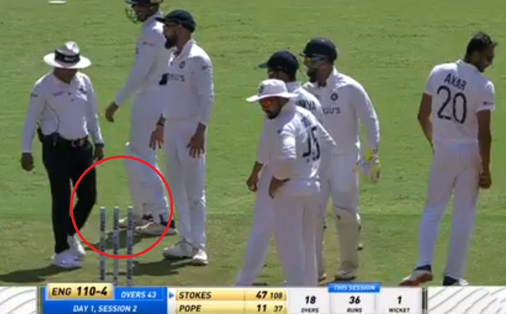 Cricket Image for India Vs England 4th Test Day 1 Curious Case Of The Missing Bails