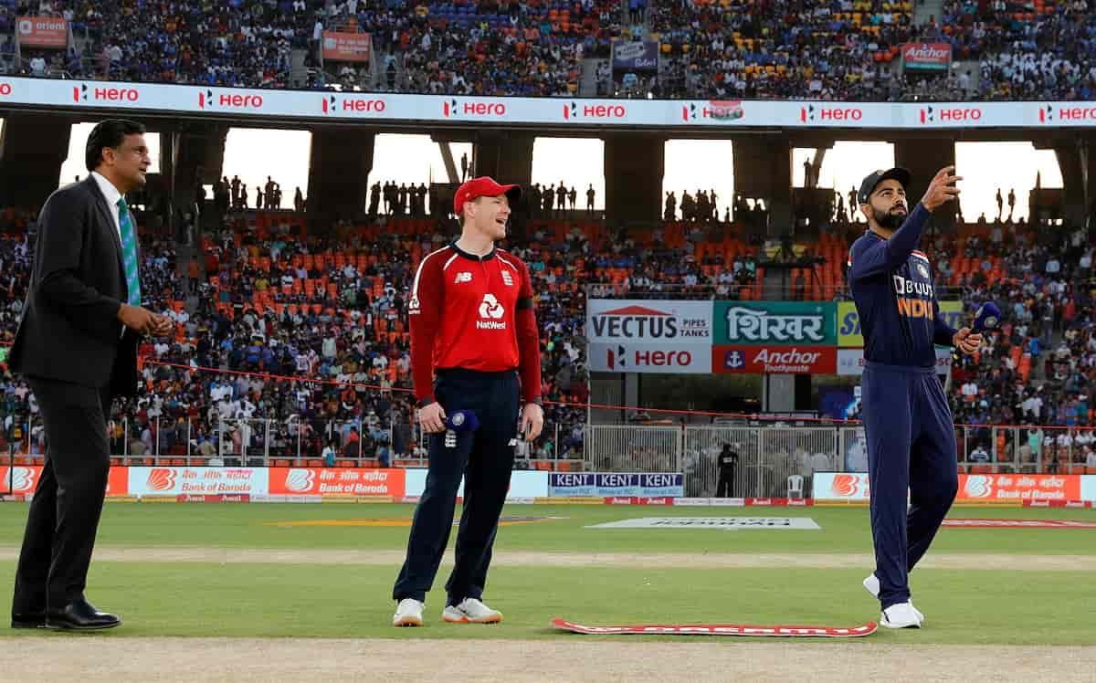 Cricket Image for IND vs ENG: पहले टी-20 में टीम इंडिया पहले करेगी बल्लेबाजी,रोहित शर्मा हुए बाहर, भ