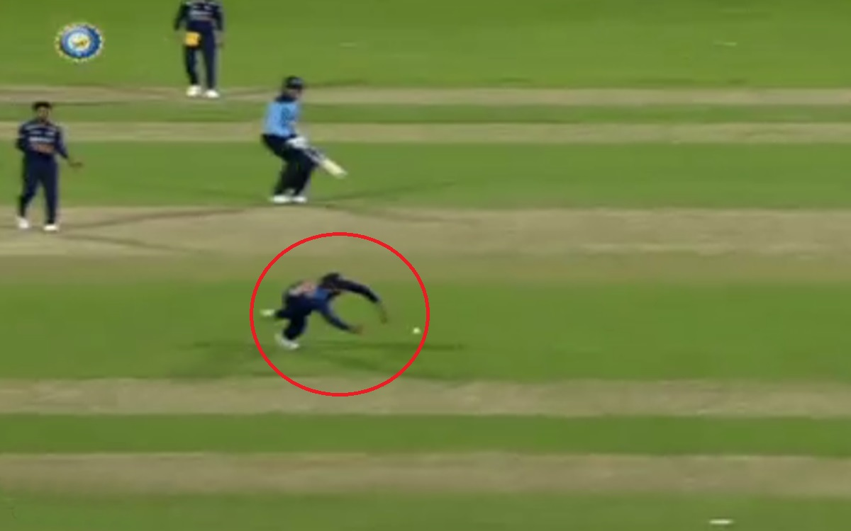 Cricket Image for India Vs England Rohit Sharma Brillian Fielding Watch Video