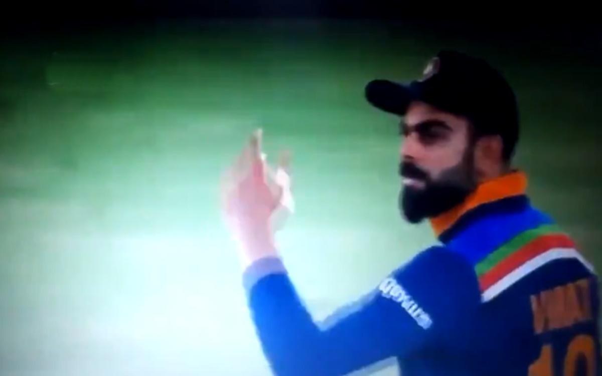 Cricket Image for Virat Kohli Loses His Cool And Abuses Shardul Thakur