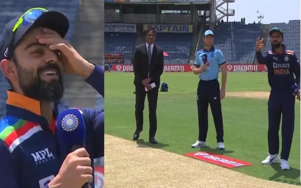 Cricket Image for Ravichandran Ashwin Reacts After Virat Kohli Loss The Toss Against England