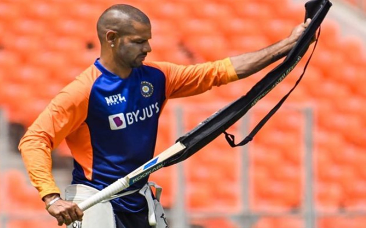 Cricket Image for Shikhar Dhawan Might Be Play During 5th T20