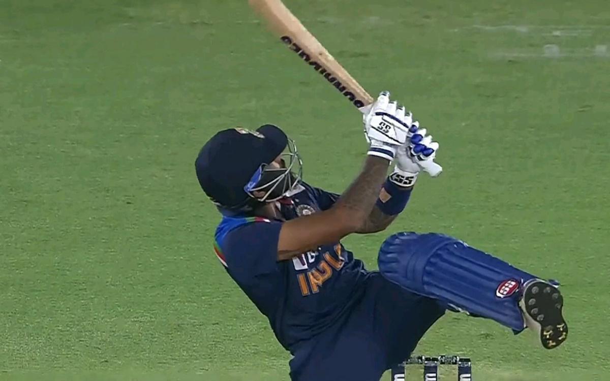 Cricket Image for Suryakumar Yadav First Ball Six In Jofra Archer Bowling