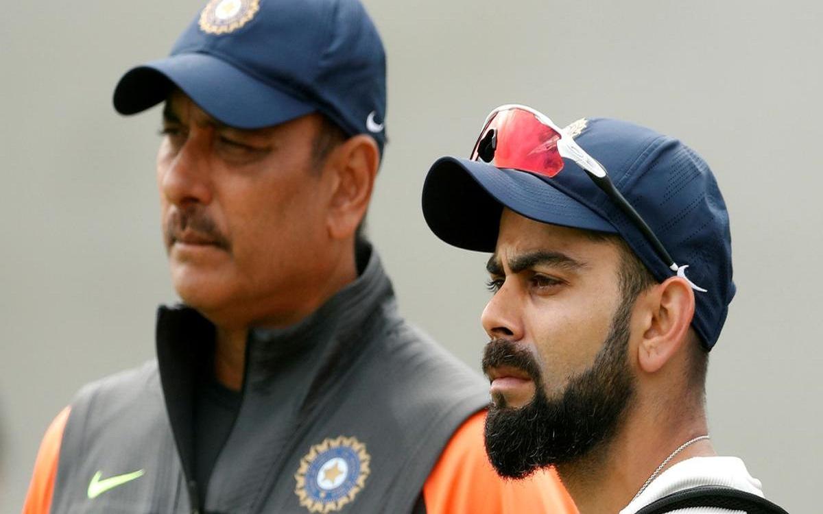 Cricket Image for India Vs England Team India Head Coach Ravi Shastri Defends Virat Kohli