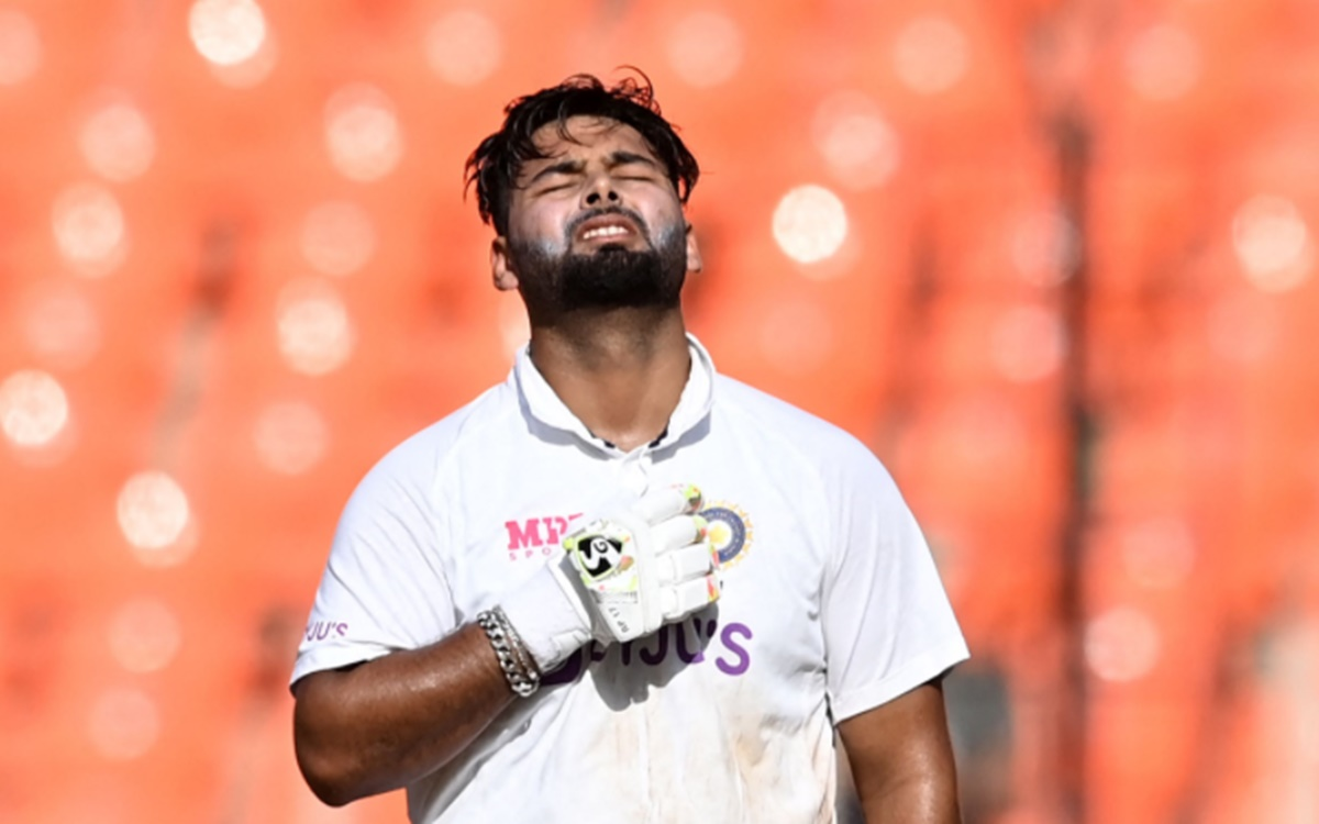 Cricket Image for Twitter Reaction On Rishabh Pant Century