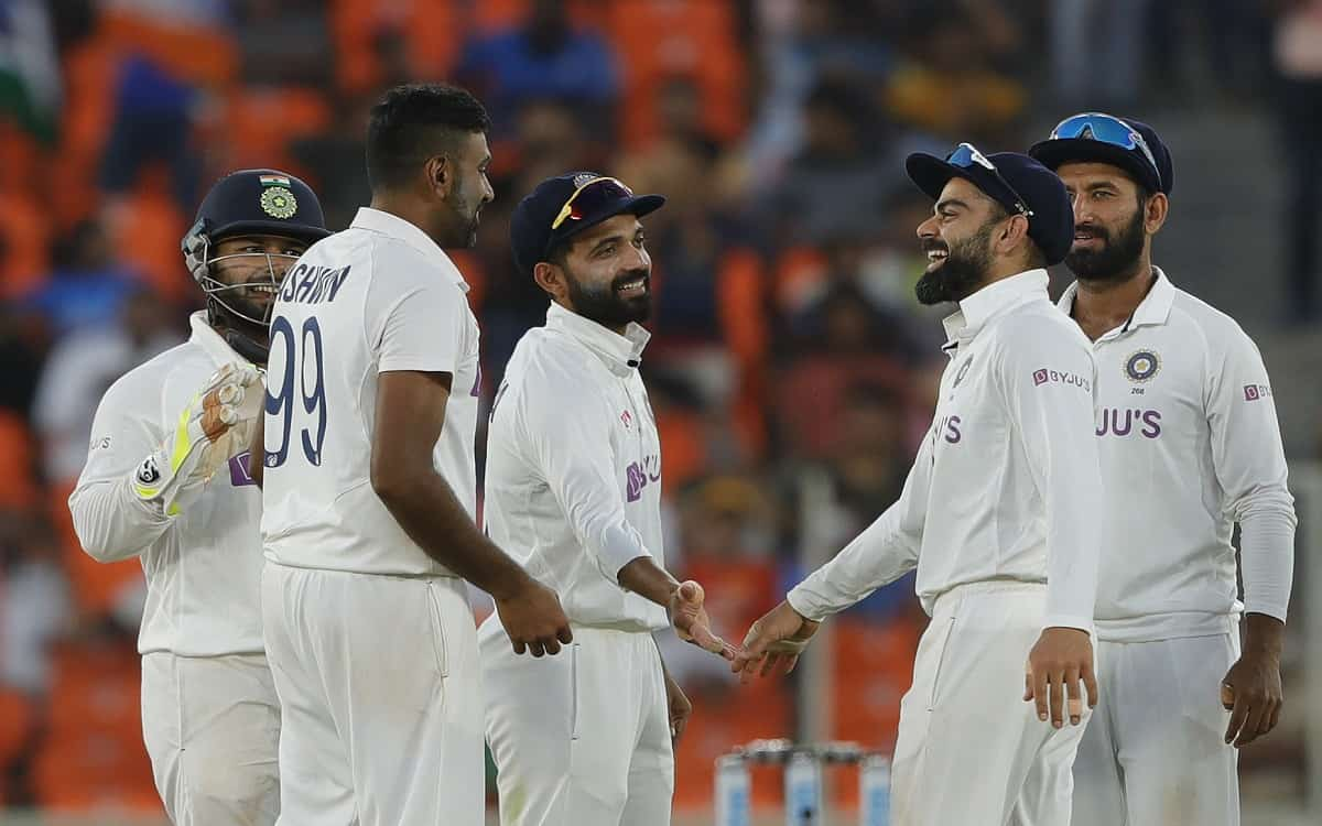 Cricket Image for Indian Teams Dominance In Front Of England English Players Piled Up For 205 Runs O