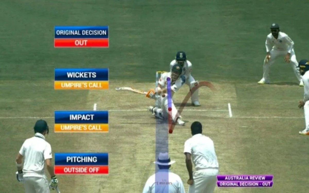 Cricket Image for Indian Umpire Nitin Menon Explains Important Aspects Of Umpires Call