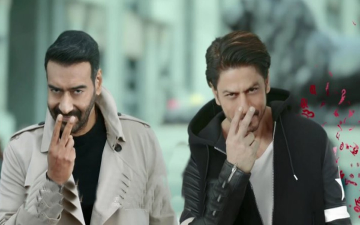 Cricket Image for Kolkata Knight Riders Owner Shah Rukh Khan Trolled After Vimal Ad With Ajay Devgn
