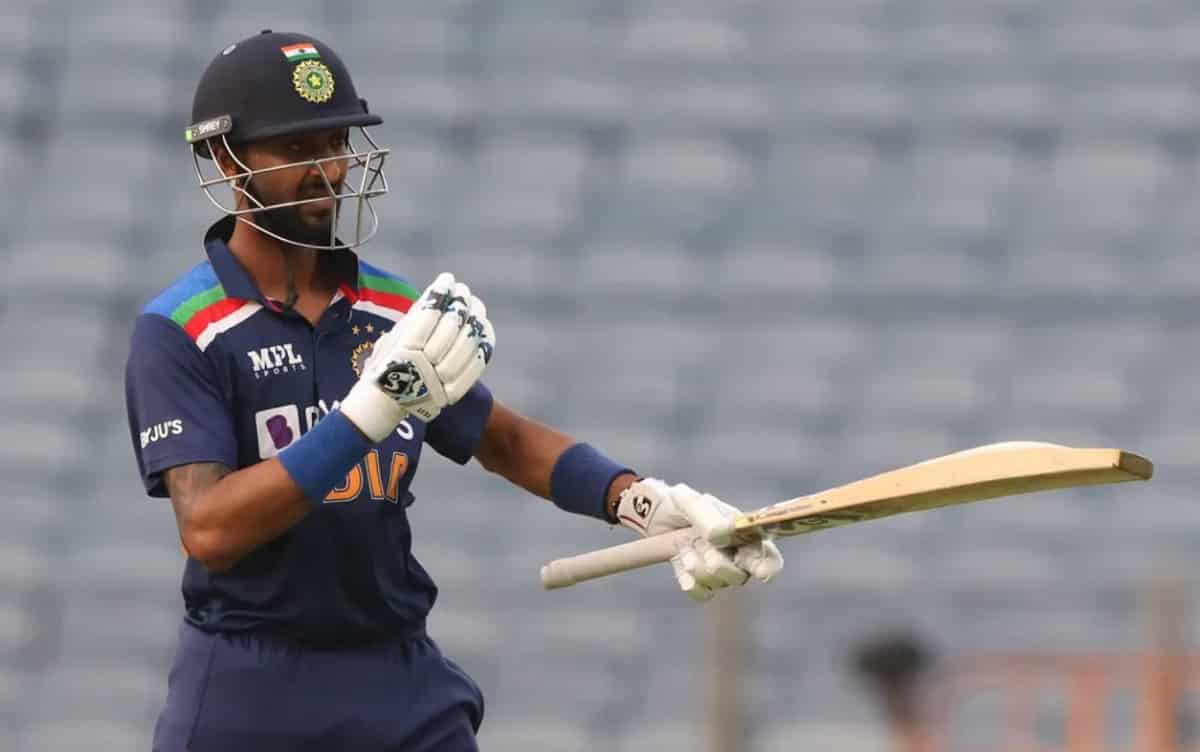 Krunal Pandya achieved 'big record' by Scored fastest fifty in his first match against England