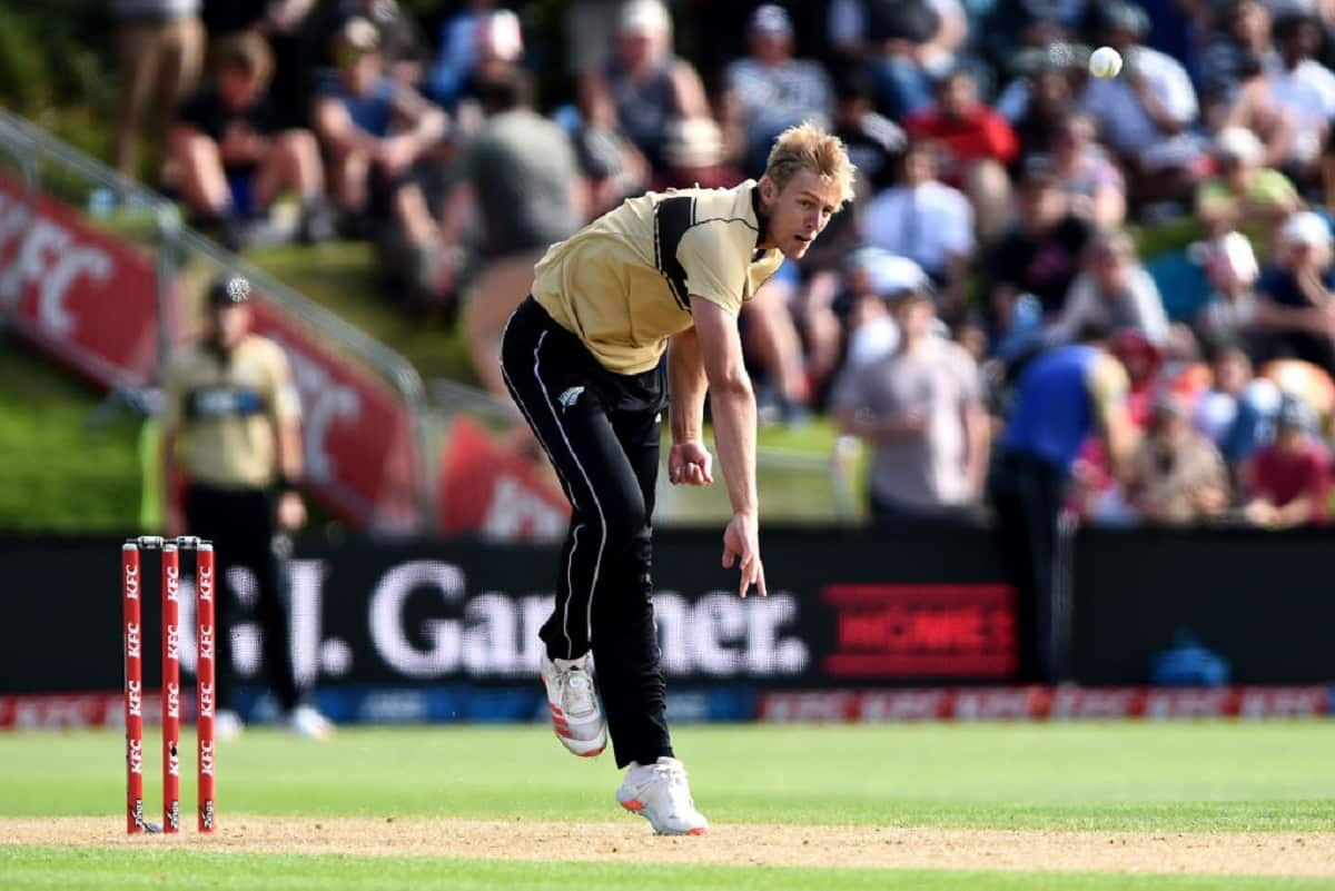 Kyle Jamieson trolled after hazardous bowling performace against Austrain in 4th t20i