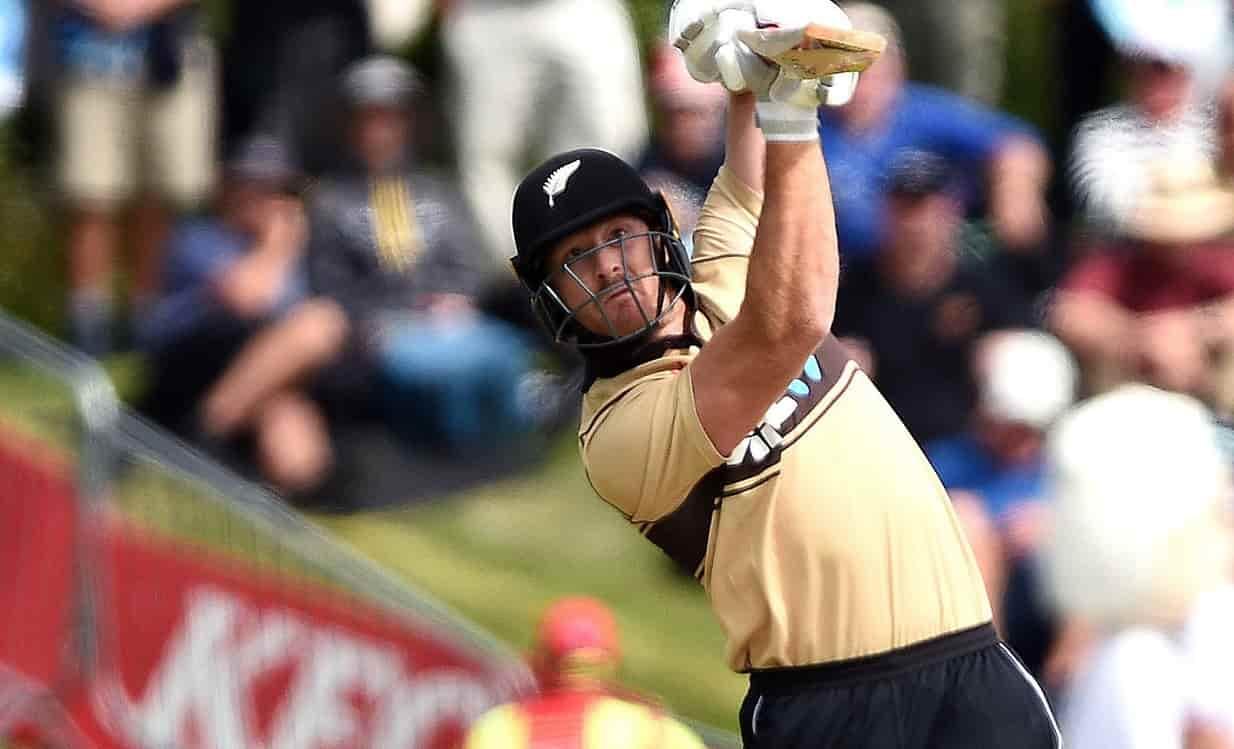 Cricket Image for मार्टिन गुप्टिल ने खेली 46 गेंद में 71 रनों की तूफानी पारी, तोड़ा हिटमैन रोहित शर्