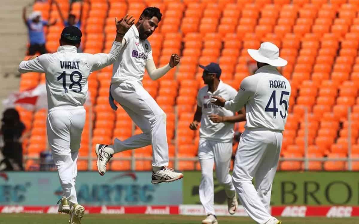 Cricket Image for चौथा टेस्ट,(टी-रिपोर्ट): अक्षर पटेल,मोहम्मद सिराज ने इंग्लैंड के 5 बल्लेबाजों को प