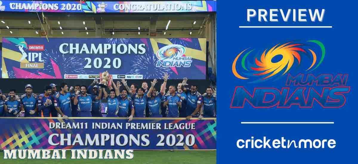 Mumbai Indians 2021 Preview