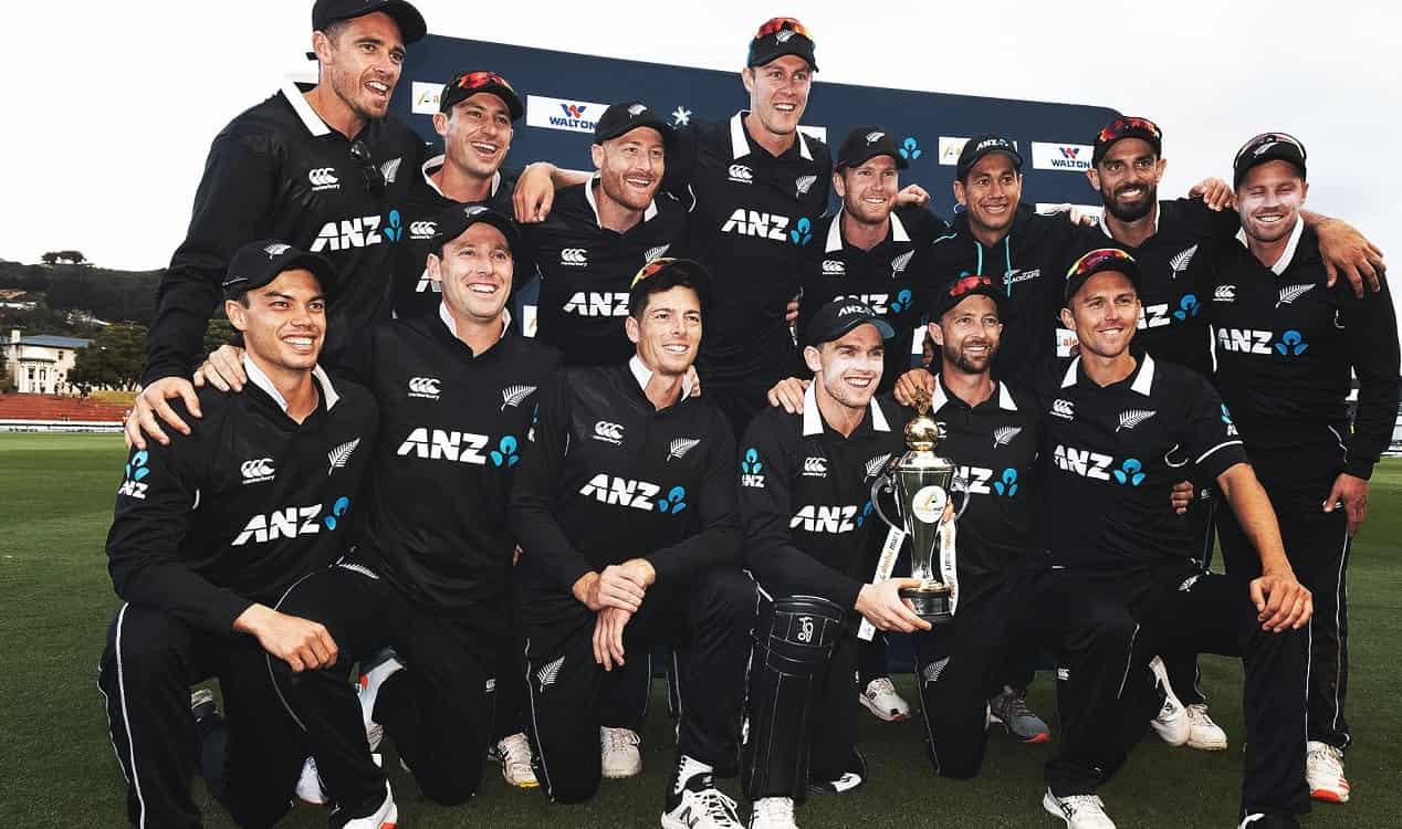 Cricket Image for NZ vs BAN: न्यूजीलैंड ने तीसरे वनडे में बांग्लादेश को 164 रनों से रौंदकर जीती सीरी