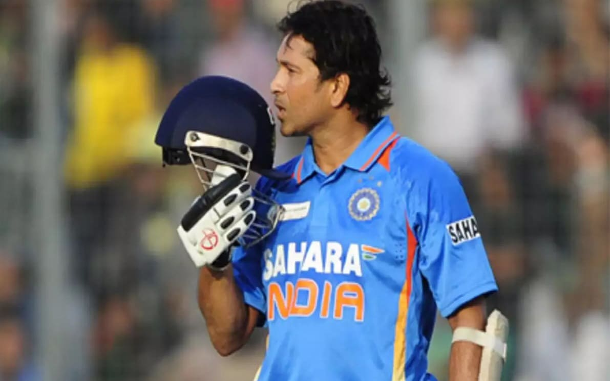 On this day in 2012, Sachin Tendulkar scored his 100th international century in Hindi