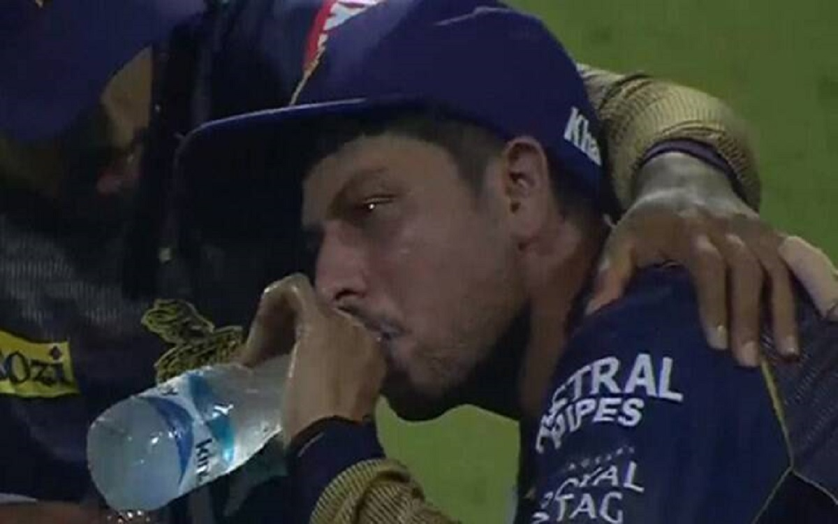 Cricket Image for Only Ms Dhoni Can Save The Sinking Career Of Kuldeep Yadav