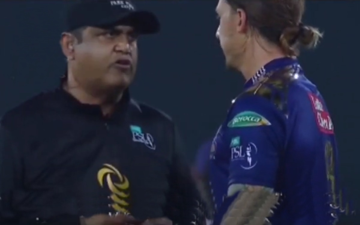 Cricket Image for Psl 2021 Dale Steyn Argument With Umpire Watch Video