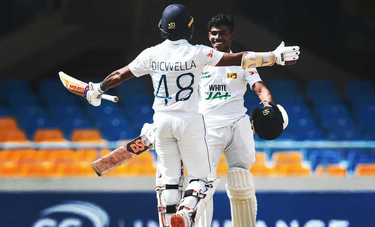 Cricket Image for 1st Test: निसांका-डिकवेला के दम पर श्रीलंका की धमाकेदार वापसी,वेस्टइंडीज को दिया 3
