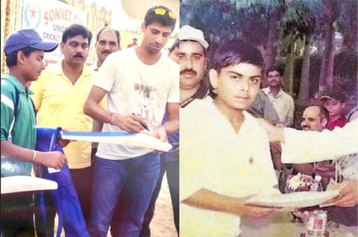 Photo of Ashish Nehra giving autograph to Pant and Kohli going viral