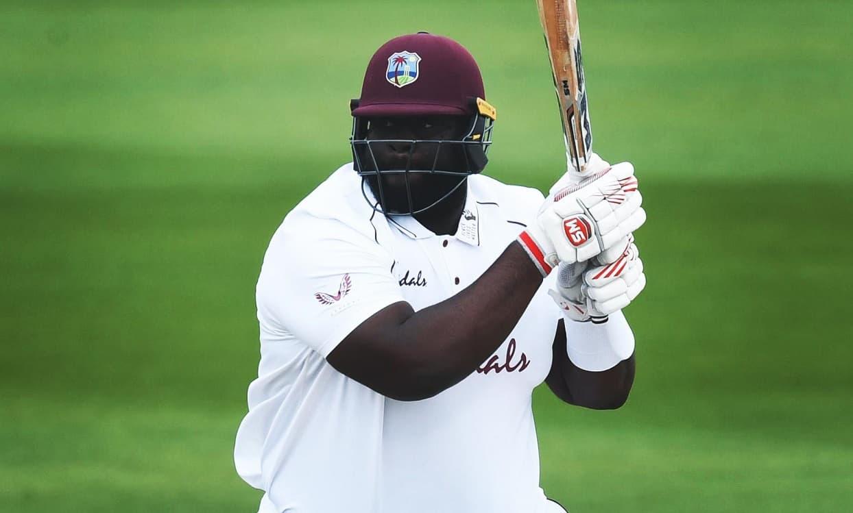 Cricket Image for 1st Test:  सुरंगा लकमल के झटके 5 विकेट,लेकिन रहकीम कॉर्नवाल अर्धशतक से वेस्टइंडीज