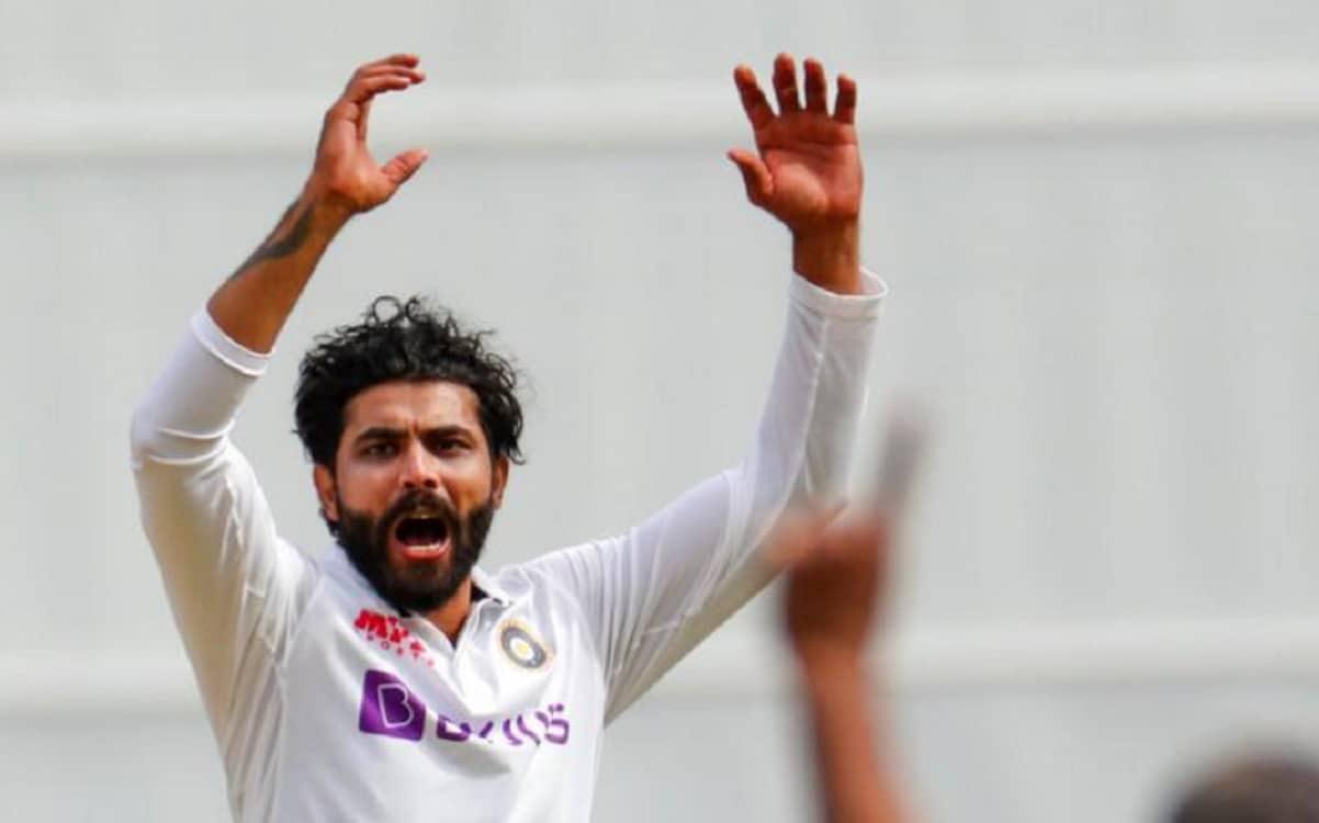 Cricket Image for सुनील गावस्कर ने ली चुटकी, बोले रविंद्र जडेजा सोच रहे होंगे उनका अंगूठे को क्या हु