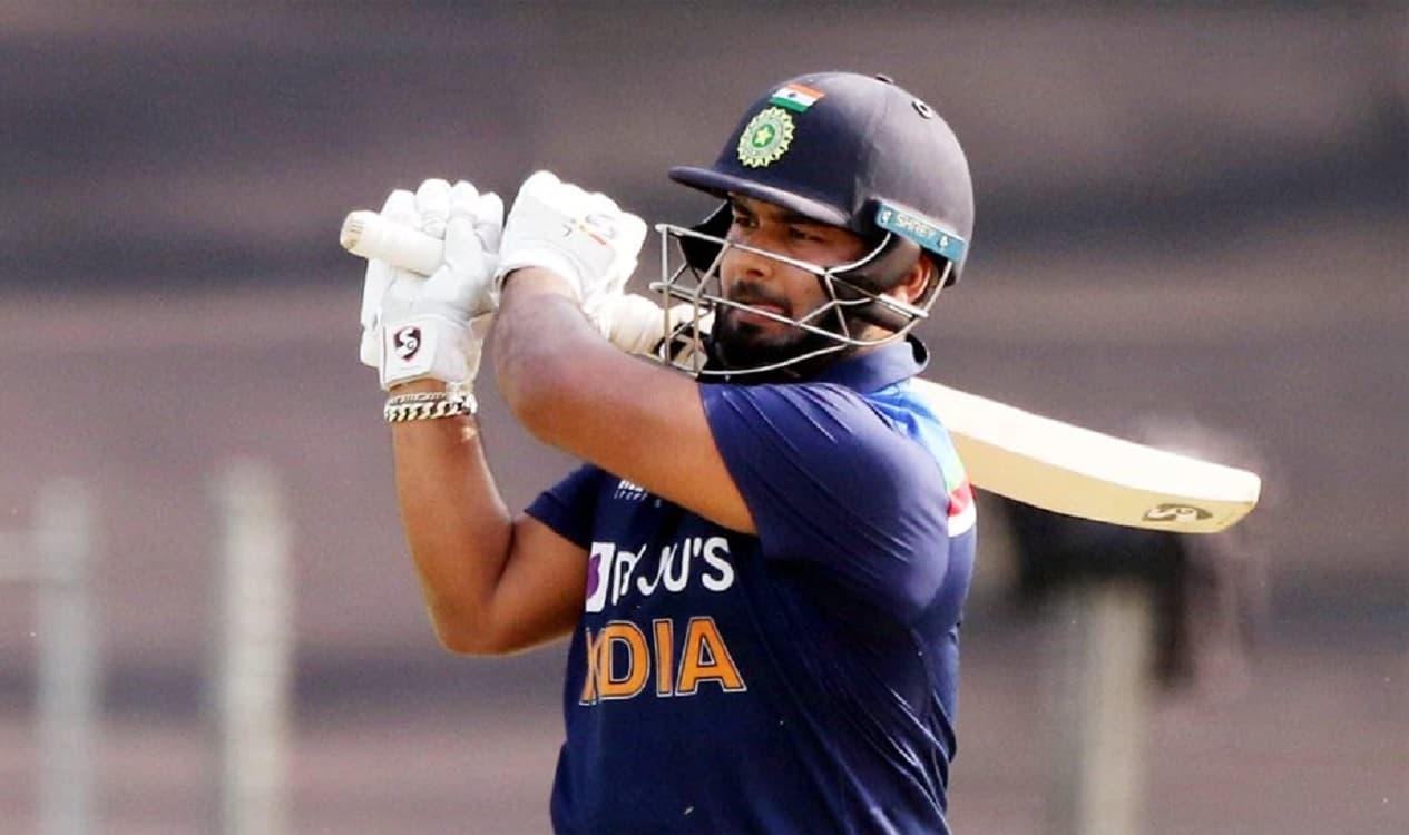 Cricket Image for ऋषभ पंत ने खेली 78 रनों आतिशी पारी,महान एमएस धोनी के खास रिकॉर्ड की बराबरी की