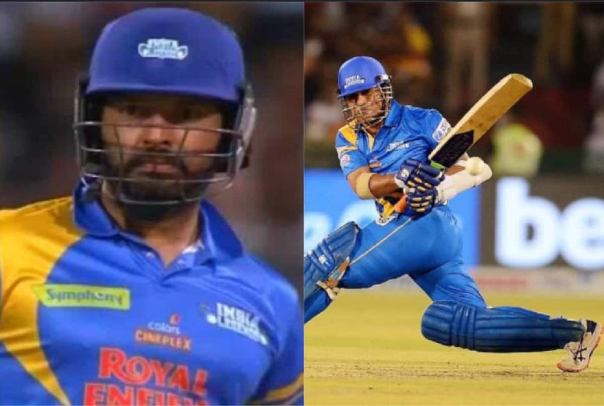 Road Safety Series: India Legends Set a target of 205 runs Against South Africa legends