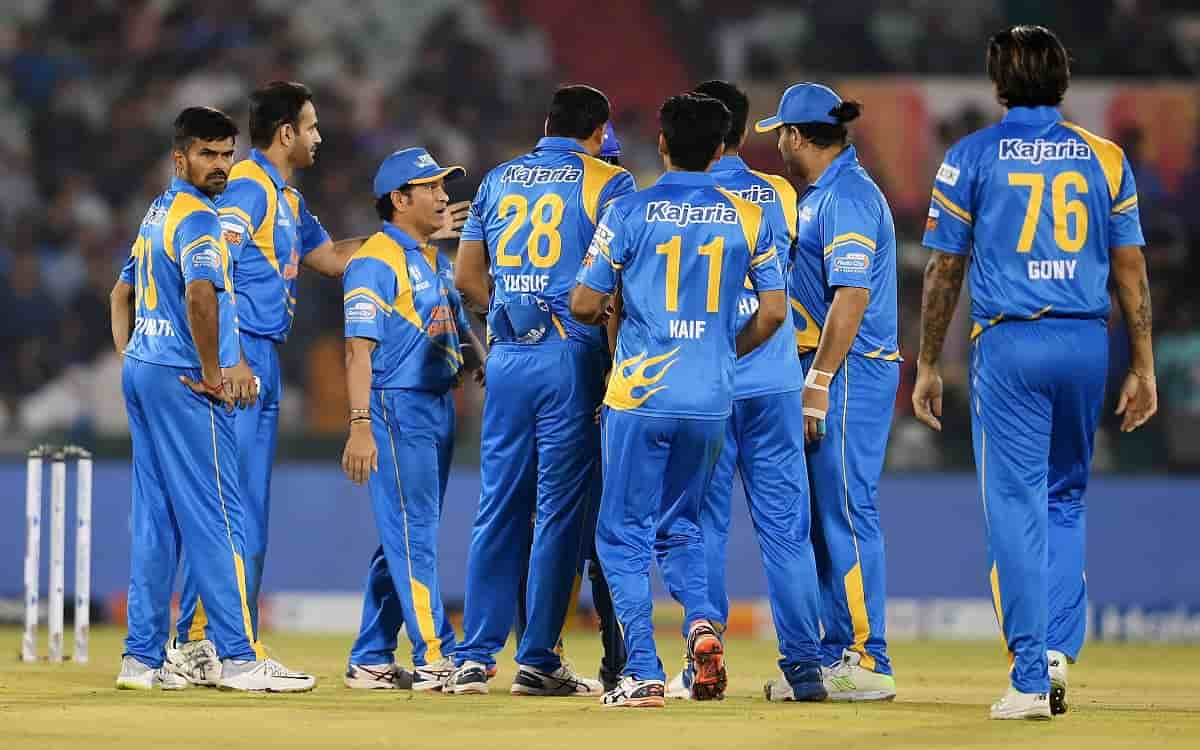 Cricket Image for India And Sri Lanka Face To Face Each Other In Road Safety World Series Final